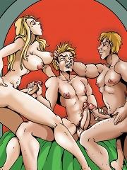 Ilza Vs Evil Twins^She Ani Male Futanari porn sex xxx futa shemale cartoon toon drawn drawing hentai gay tranny