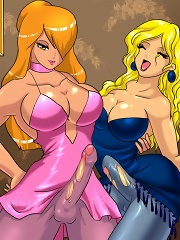 The Neighbours^She Ani Male Futanari porn sex xxx futa shemale cartoon toon drawn drawing hentai gay tranny