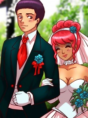Our Wedding Vows^She Ani Male Futanari porn sex xxx futa shemale cartoon toon drawn drawing hentai gay tranny
