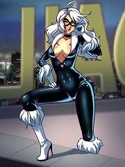 The Cat and the Spider^She Ani Male futanari porn sex xxx futa shemale cartoon toon drawn drawing hentai gay tranny