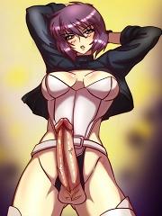Ghost in the Shell Cybercock^She Ani Male futanari porn sex xxx futa shemale cartoon toon drawn drawing hentai gay tranny