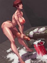 Get your hands on sexy anime tgirls^Shemale Toons Futanari porn sex xxx futa shemale cartoon toon drawn drawing hentai gay tranny