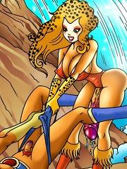 Thunder Cats Hooooo!^She Ani Male futanari porn sex xxx futa shemale cartoon toon drawn drawing hentai gay tranny