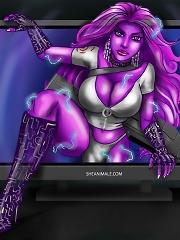 Gamers shemale fuck surprise^She Ani Male futanari porn sex xxx futa shemale cartoon toon drawn drawing hentai gay tranny