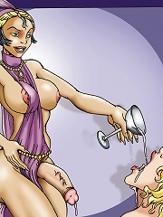 Au Pair Shemale^She Ani Male futanari porn sex xxx futa shemale cartoon toon drawn drawing hentai gay tranny