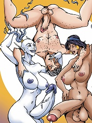 Sultan and the Shemales Pt4^She Ani Male futanari porn sex xxx futa shemale cartoon toon drawn drawing hentai gay tranny