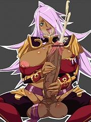 Futanari cutie strokes herself while being fucked by other girl with dick!^Futanari Vault futanari porn sex xxx futa shemale cartoon toon drawn drawin