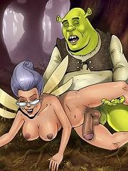 Shreks shemale girlfriends giving him a hard time^Futa Toon futanari porn sex xxx futa shemale cartoon toon drawn drawing hentai gay tranny