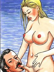 Peeping Tom trades a butthole fucking with a hot shemale^She Ani Male futanari porn sex xxx futa shemale cartoon toon drawn drawing hentai gay tranny