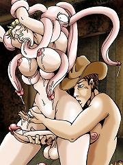Ladyboy Hunters of the Wild West^She Ani Male futanari porn sex xxx futa shemale cartoon toon drawn drawing hentai gay tranny